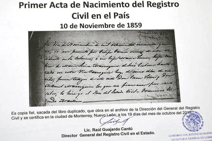 Contemporáneo Acta De Nacimiento Duplicar Colección - Cómo conseguir ...