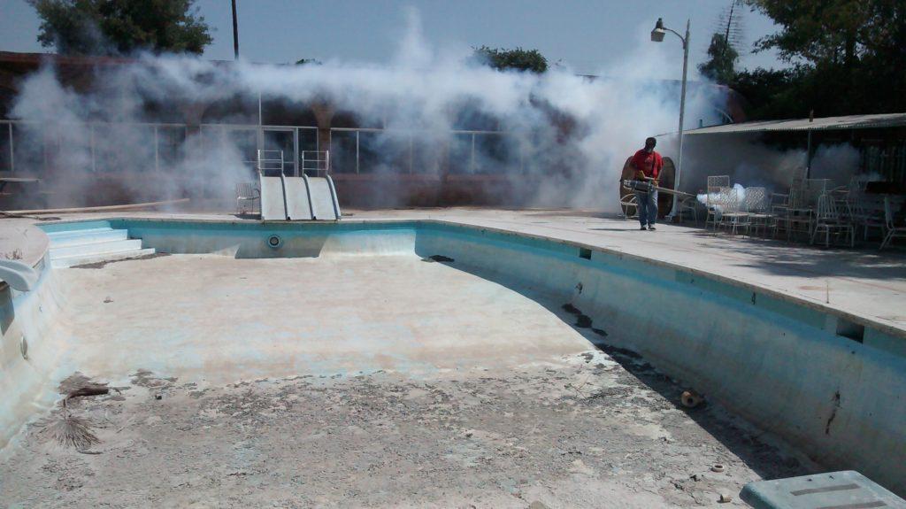 Fumigan instalaciones de albercas brice o psn noticias for Instalaciones de albercas pdf