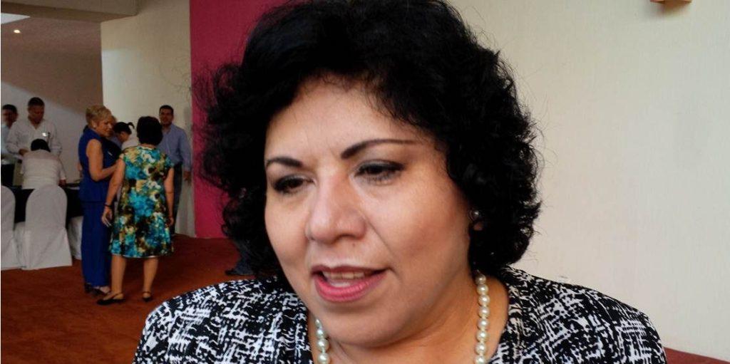 Rosalba López Regalado, diputada y presidenta de la Comisión para la Igualdad entre Mujeres y Hombres del Congreso del Estado.