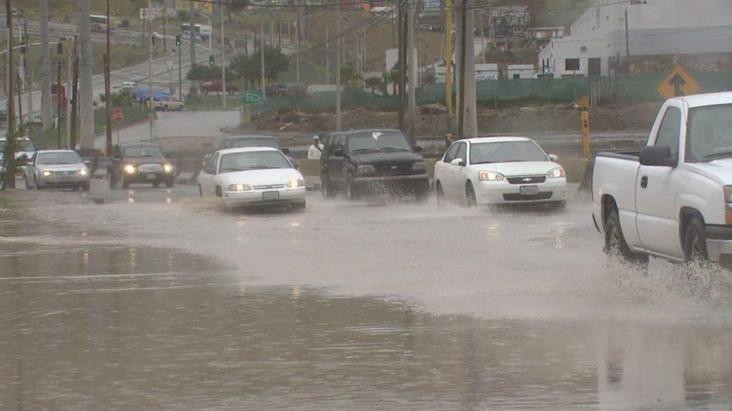 Protección Civil previene por lluvias moderadas esta noche en Tijuana