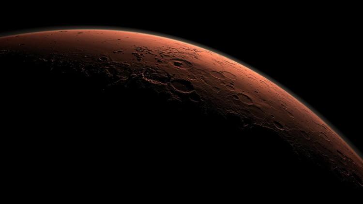 Marte, planeta, superficie, agua