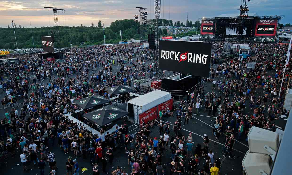 festival de rock en alemania evacuado por amenaza terrorista. Black Bedroom Furniture Sets. Home Design Ideas
