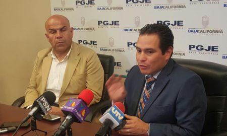 Subprocurador Alvarez y subsecretario Mendez