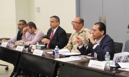 Reunión mandos militares y policiacos