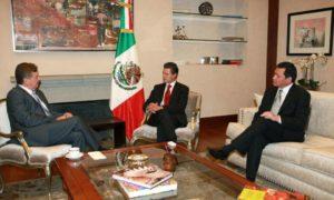Osorio, Peña Nieto y Vega