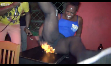 calzones en llamas