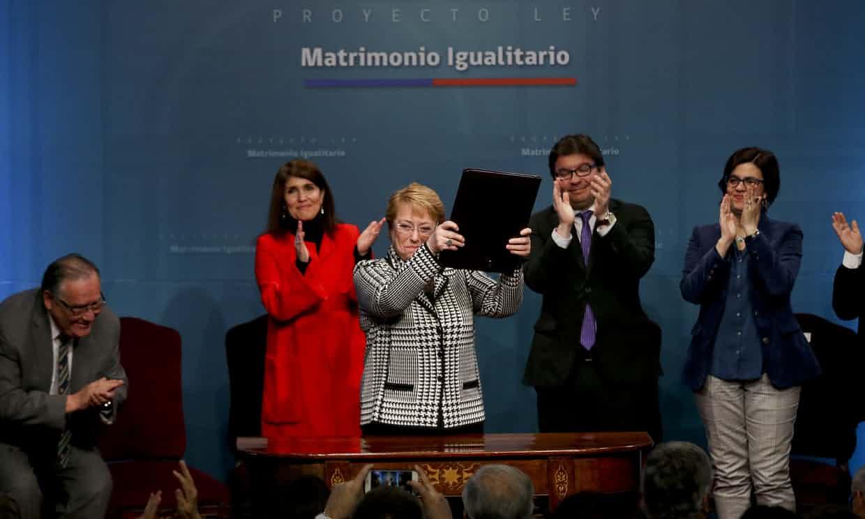 Matrimonio homosexual en chile ley