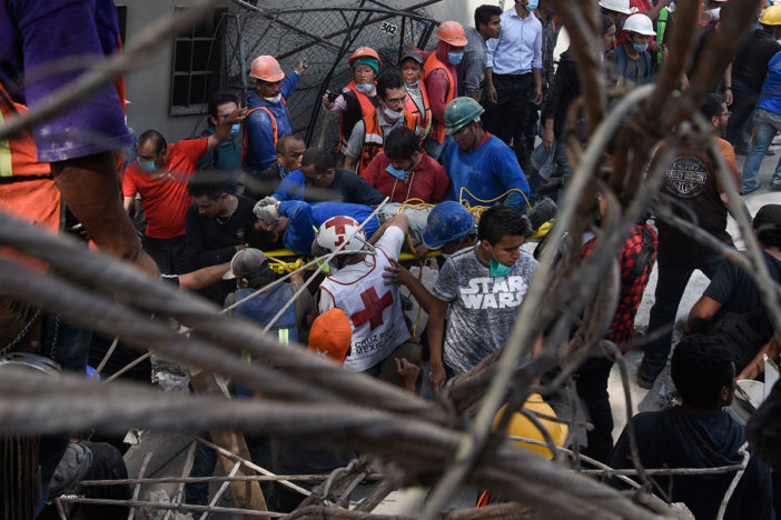 Suspenden clases en varios estados de México por sismo