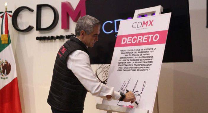 Murieron 186 personas en la CDMX por sismo: Mancera