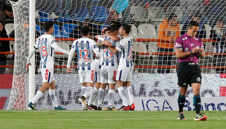 Pachuca goleó 4-0 a Cruz Azul