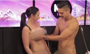 Se desnudan en programa de radio y no contienen su deseo sexual