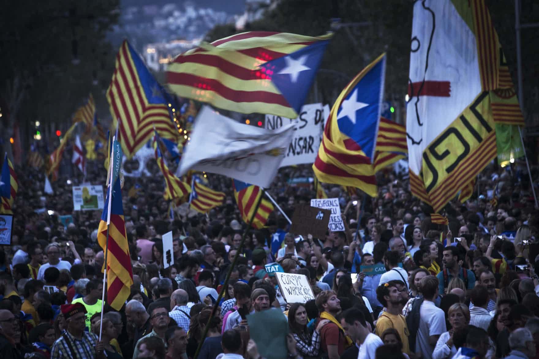 Cataluña podría declararse independiente el jueves