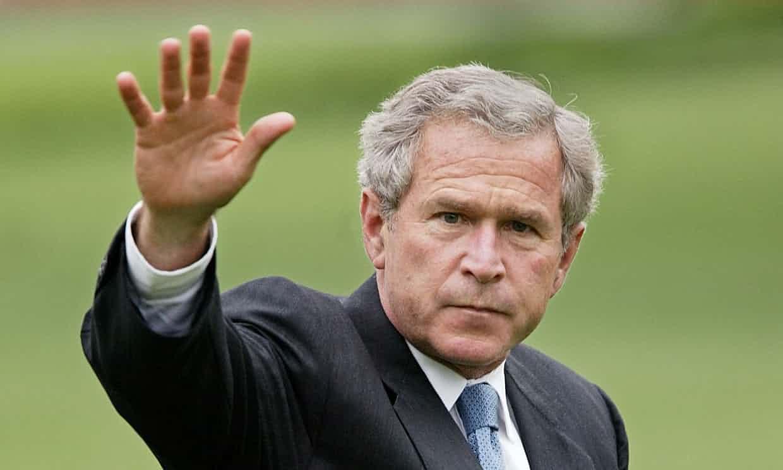 Expresidente Bush alertó de