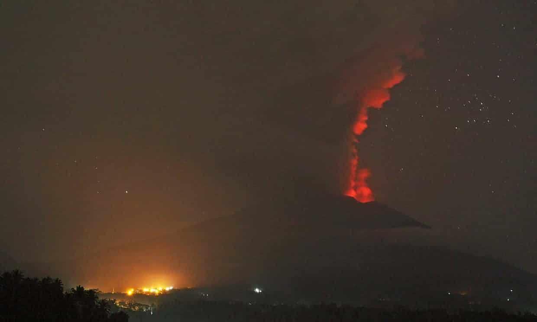 Monte Agung lava