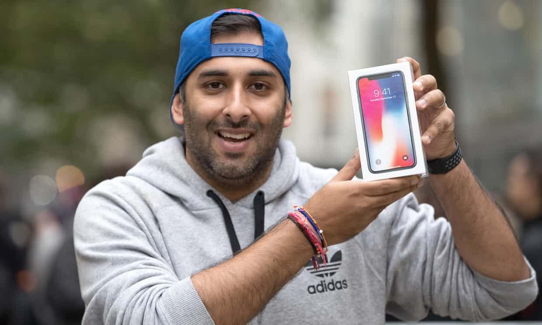 Apple: El iPhone X se puede