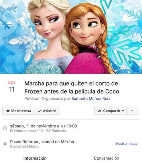 Cine elimina corto de Frozen previo a 'Coco'