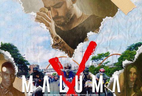 Circula en redes foto de Maluma en ataúd que consterna