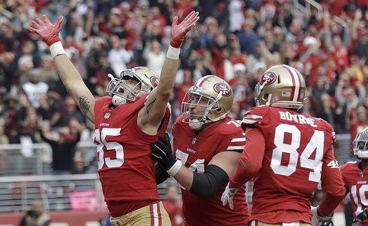 Con gran actuación de Garoppolo, los 49ers derrotaron a Jaguars