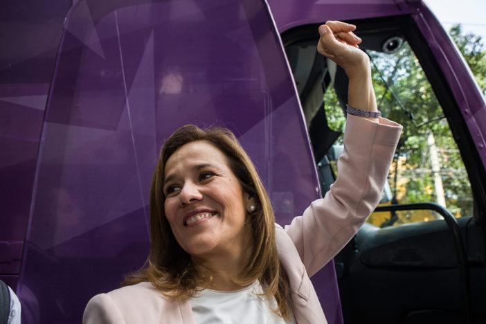 Margarita Zavala pide a panistas 'rebelarse' y apoyar su candidatura