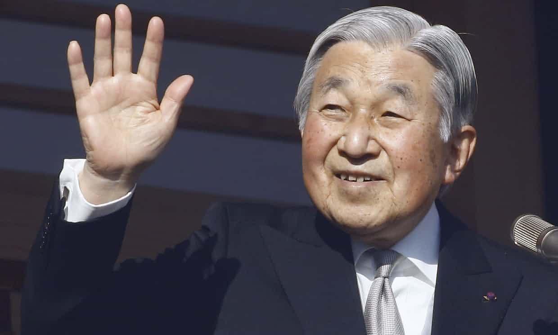 El emperador de Japón renunciará al trono en abril de 2019