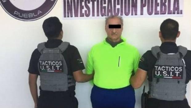 Detienen a ex secretario de salud de Veracruz en Puebla