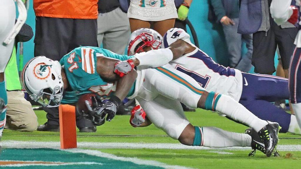 Miami sorprendió y venció 27-20 a Patriotas
