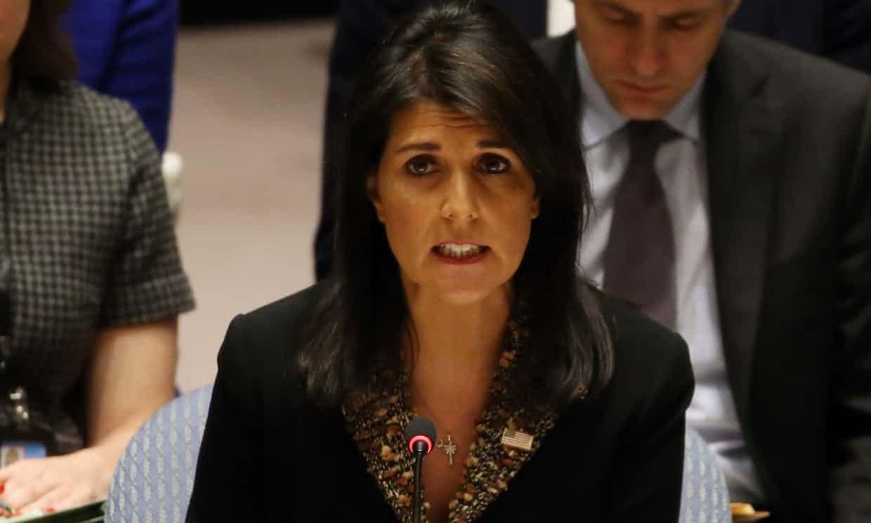 Vetó resolución del Consejo de Seguridad de la ONU sobre Jerusalén