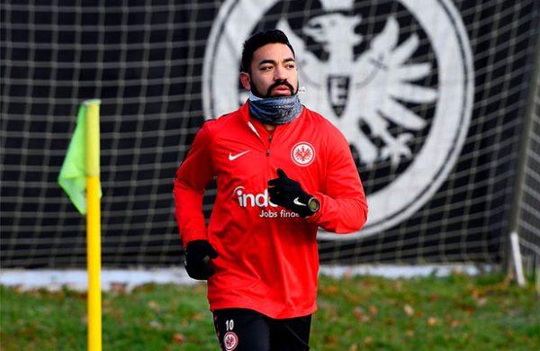 Marco Fabián vuelve a entrenar con el Eintracht Frankfurt