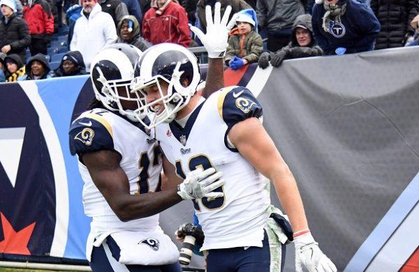 Detrás de Todd Gurley, los Rams conquistan el titulo divisional ante Tennesse