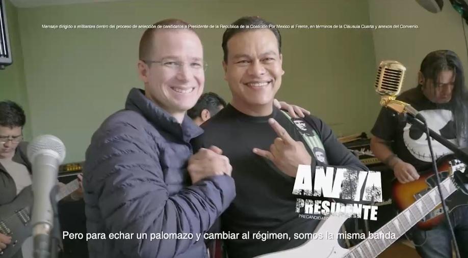 Despedirá Ricardo Anaya el 2017 al ritmo de 'La Bamba'