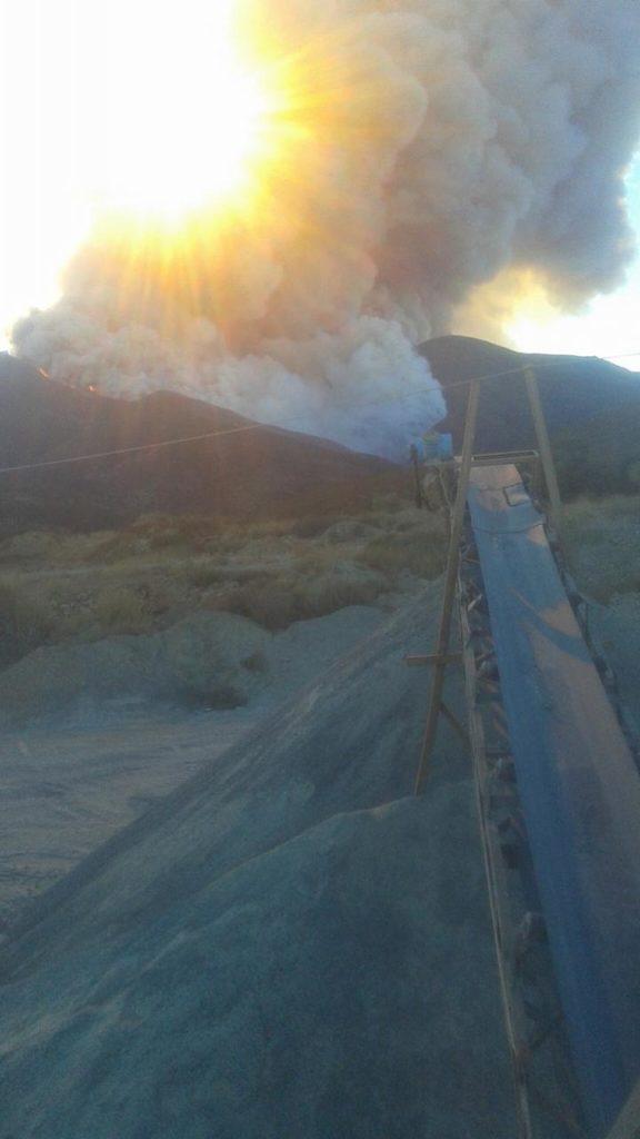 Incendio cerro Bola