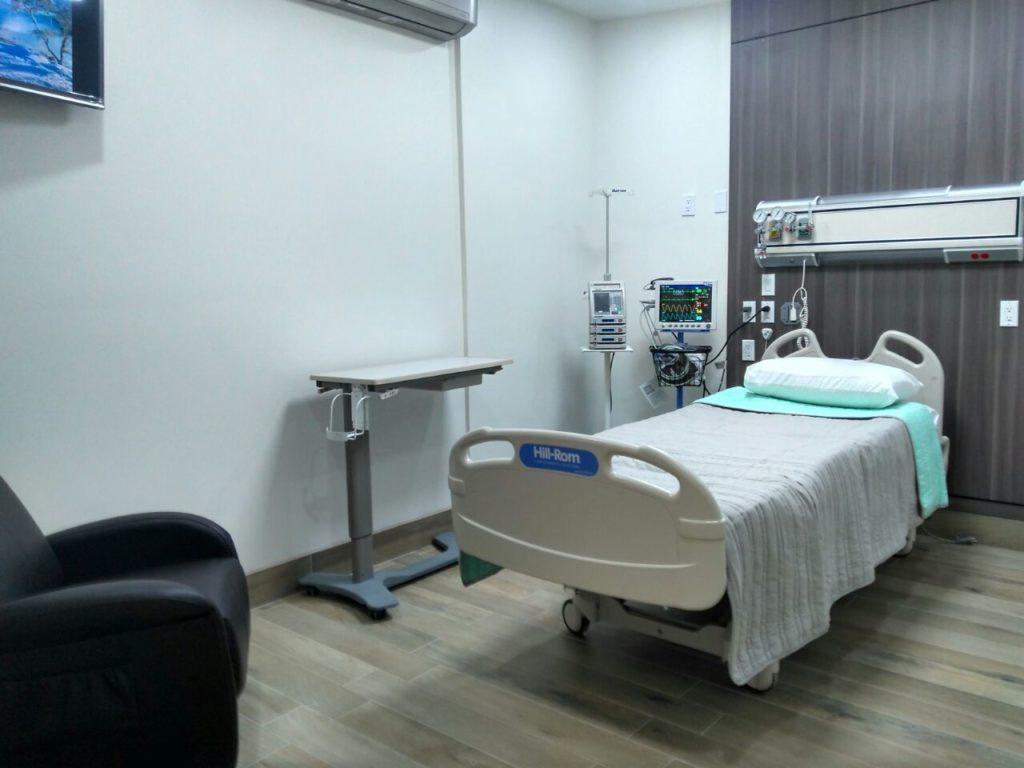 Inauguran 5 cuartos para hospitalizaci n en la cruz roja for Cuanto es un cuarto de hora