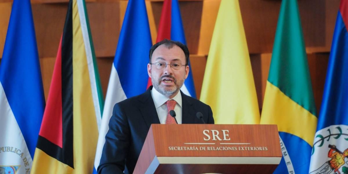 Videgaray rechaza buscar una candidatura en 2018
