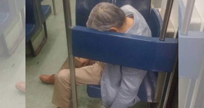 Anciano muere de un paro cardíaco en vagón de metro Pantitlán
