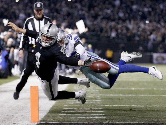 Dallas gana de forma insólita a los Raiders