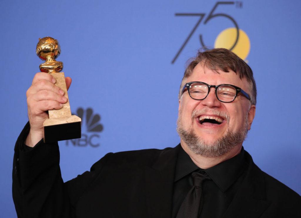 Guillermo del Toro consagrado Mejor director en los Golden Globe