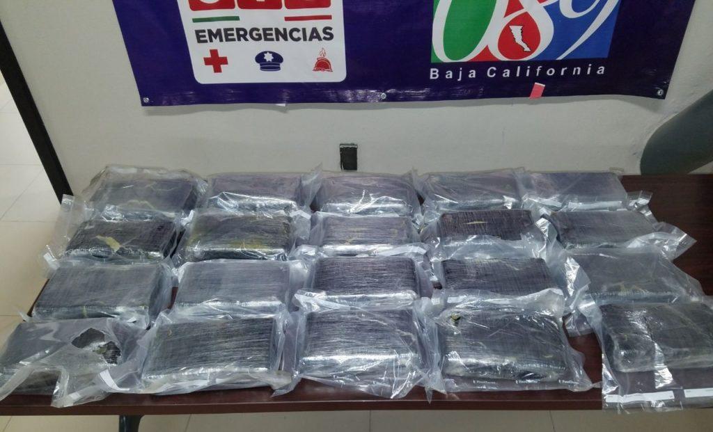 Decomisan 20 kilogramos de cocaína en el interior de un vehículo