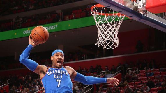 Con 37 puntos de Westbrook, Thunder hila 8vo triunfo
