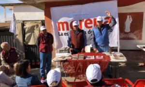 Jaime Bonilla en Cuchuma, Tecate