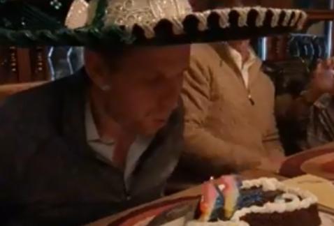 Hijo de Trump tiene cumpleaños a la mexicana