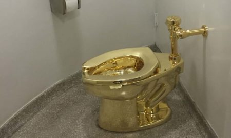 retrete de oro