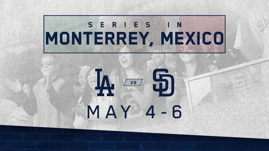 MLB define horarios de serie en Monterrey