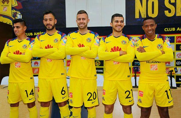 Martes noticias psn for Cuarto uniforme del club america