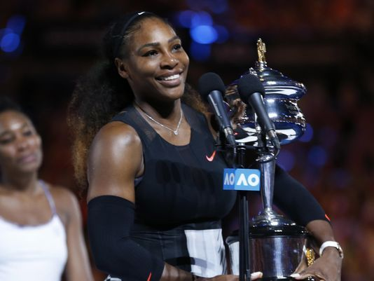 Serena Williams, ausente en el Abierto de tenis de Australia