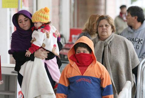 Llegarán a México 25 frentes fríos durante el resto del invierno