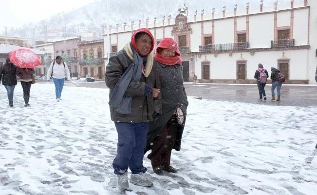 Pronostican nevadas en estados del norte del país