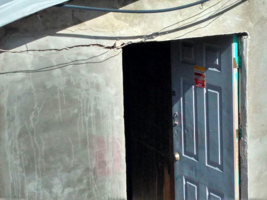Colapsan 70 casas en Tijuana; habitantes culpan a constructora