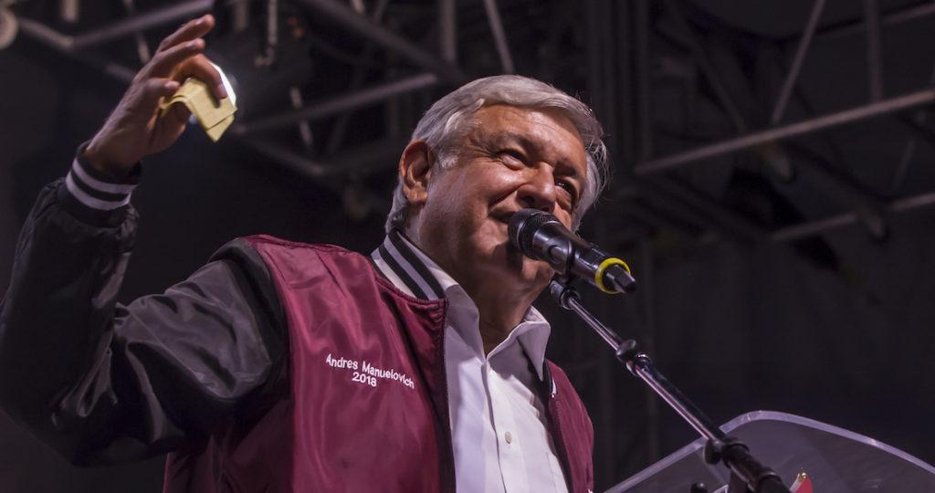 Andres Manuel López Obrador estará en Tijuana este lunes.
