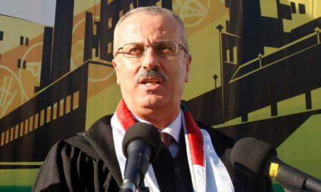 primer ministro palestino