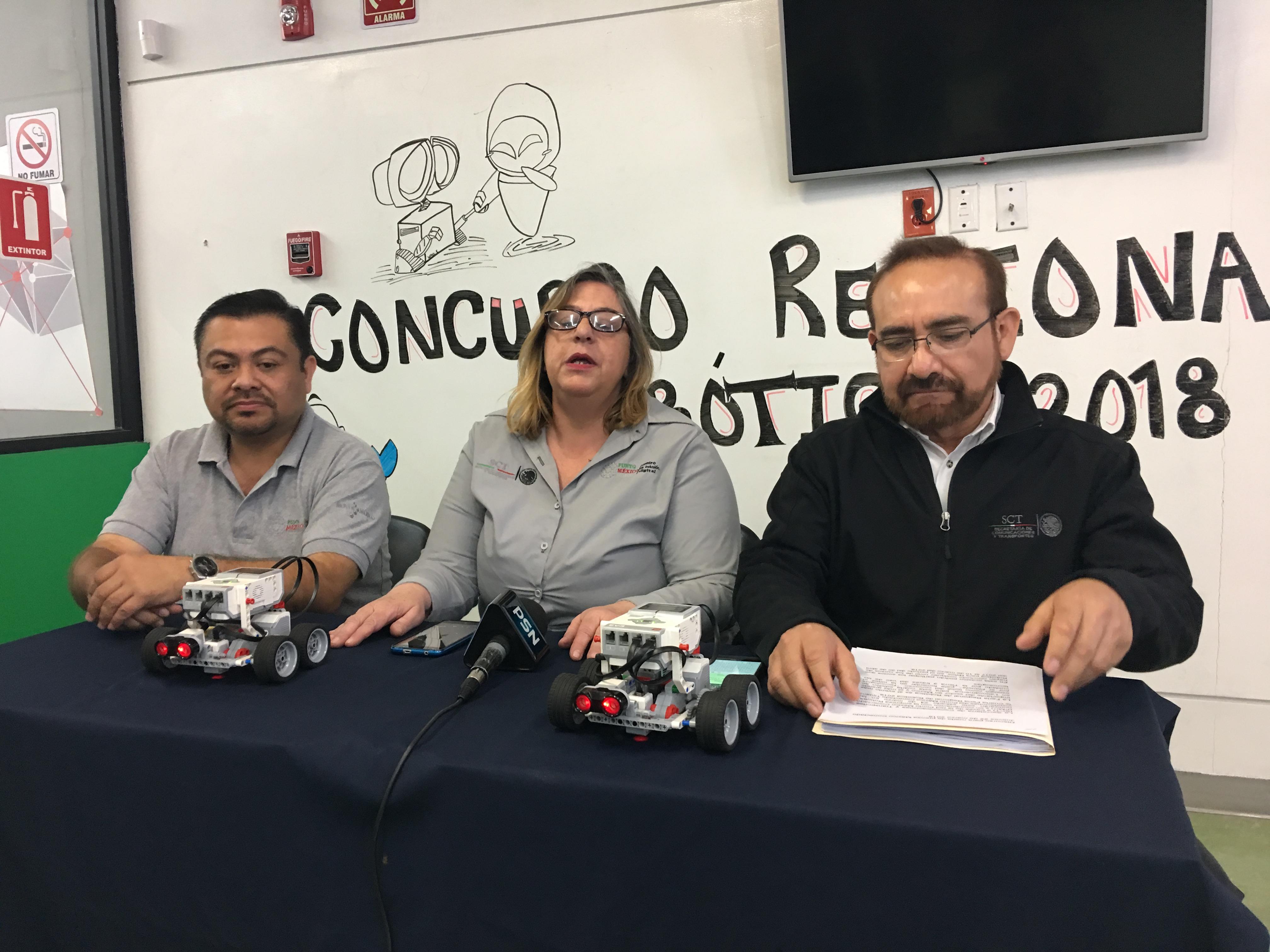 Realizarán Feria Regional de Robótica 2018 este sábado